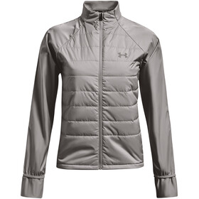 Under Armour Run Insulate Hybrid Jacket Women, gris